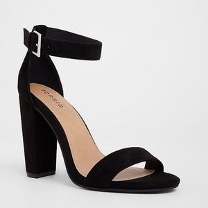 Torrid Sandal Chunky Heel Ankle Strap 8.5W